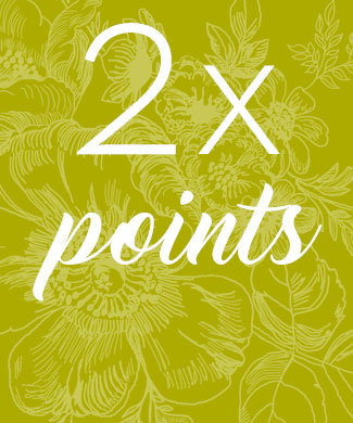 Double points in August!