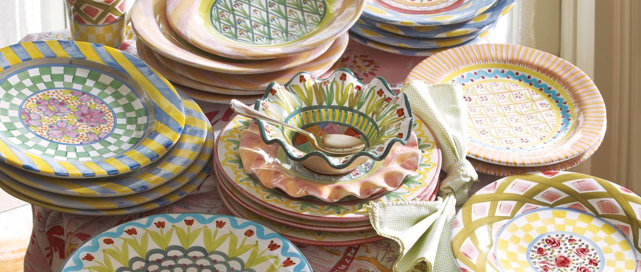 Taylor Dinnerware & MacKenzie-Childs | MacKenzie-Childs | Taylor Collection